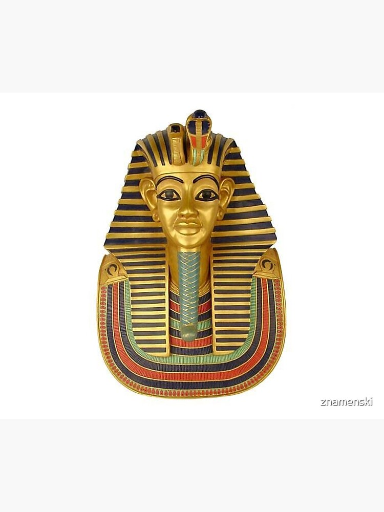 #ANCIENT #EGYPTIAN #ARTIFACTS: Funerary Mask of King Tutankhamun Plaque (Life size) : Egyptian Museum, Cairo, 1347-1237 B.C. by znamenski