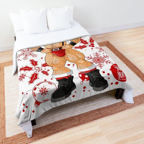 ADAM LIKES SANTA - RED XMAS Comforter