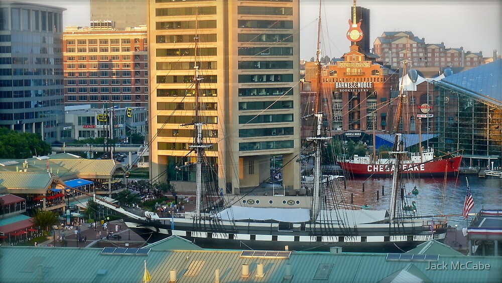 Birdseye View of Baltimore Inner Harbor  *featured by Jack McCabe