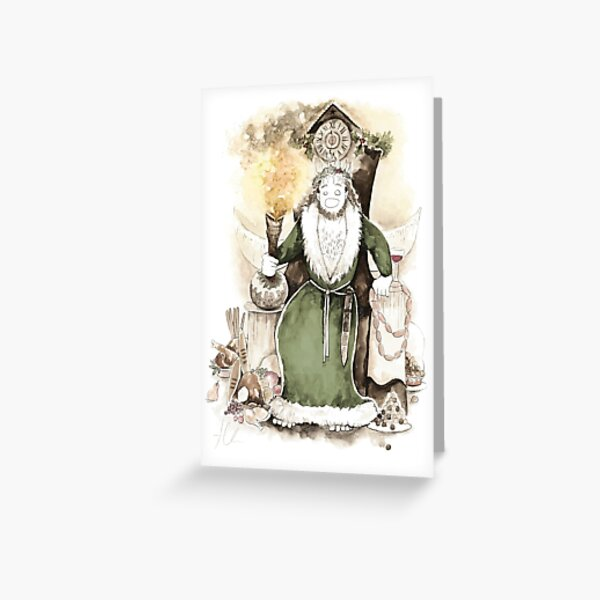 Spirit of Christmas Present Greeting Card