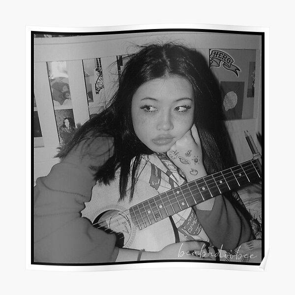 Beabadoobee playing guitar Poster