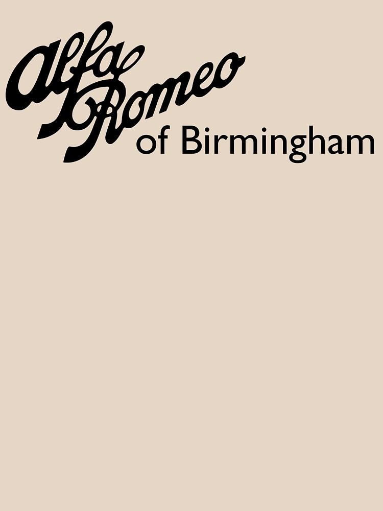 Alfa Romeo of Birmingham - Classic Script by Fobrocks
