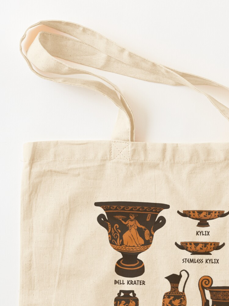 Alternate view of Ancient Greek Pottery Tote Bag