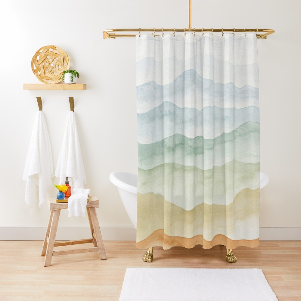 Sweet Mountains Shower Curtain