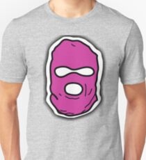 Pink Ski Mask  Unisex T-Shirt