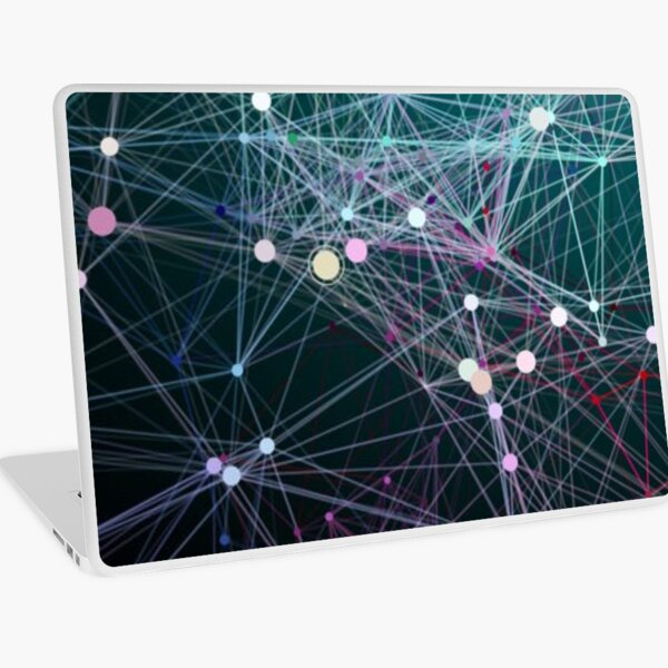 #Complexity characterises the #behaviour of a #system or #model whose components interact in multiple ways and follow local rules Laptop Skin