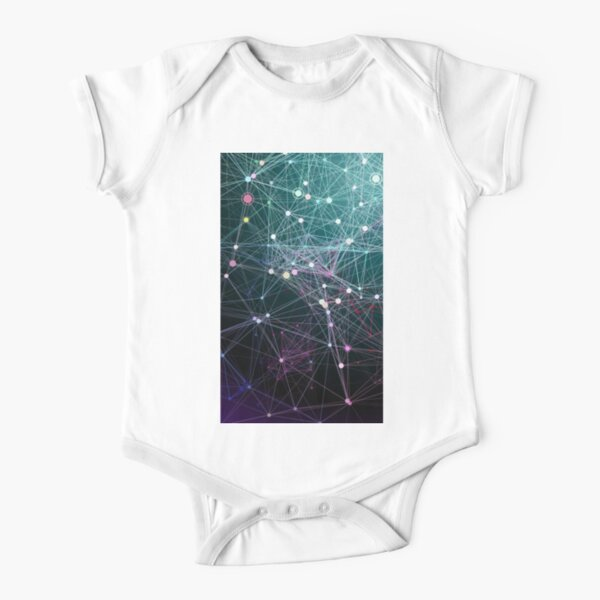 #Complexity characterises the #behaviour of a #system or #model whose components interact in multiple ways and follow local rules Short Sleeve Baby One-Piece