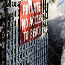 No access to the Beach ! by lendale