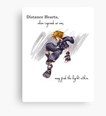 KINGDOM HEARTS ~ SORA INK Canvas Print