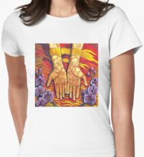 Henna Women's Fitted T-Shirt