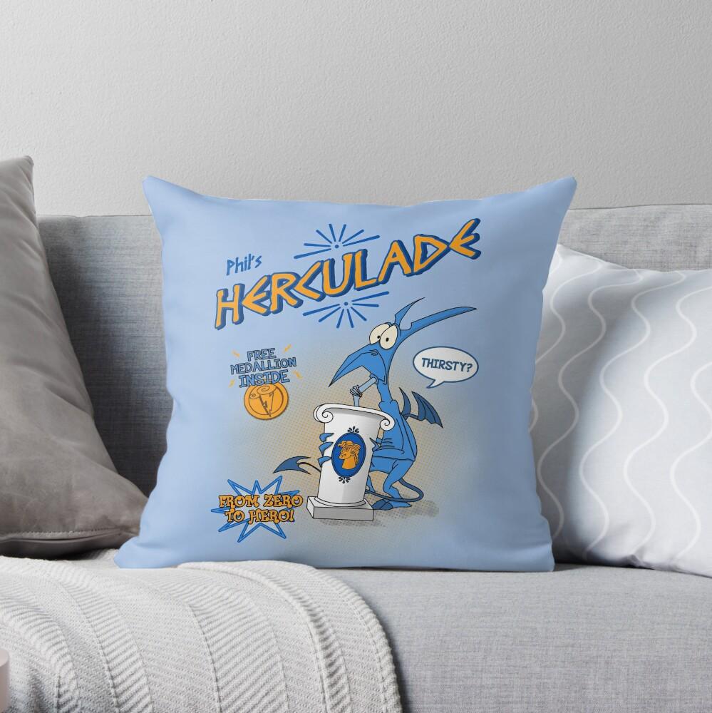 Herculade Throw Pillow