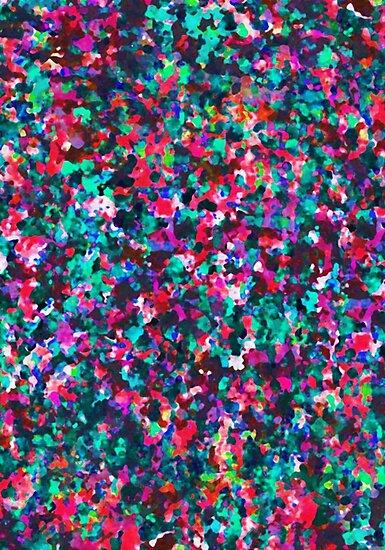 Informel Art Abstract by MEDUSA GraphicART