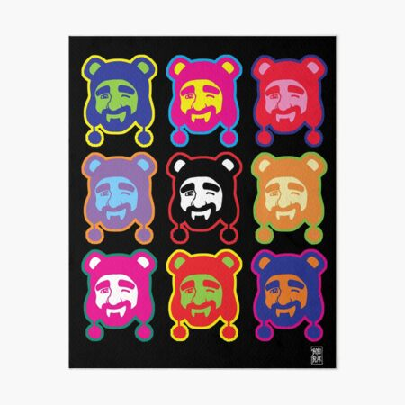 ADAM LIKES POP ART Art Board Print