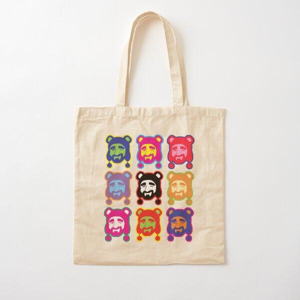 ADAM LIKES POP ART Cotton Tote Bag