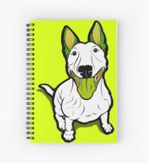 Lola Lugs Bull Terrier  Spiral Notebook