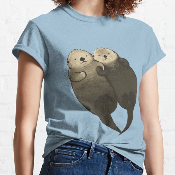 Significant Otters - Otters Holding Hands Classic T-Shirt