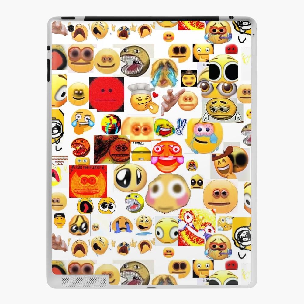 Cursed Emojis Ipad Case Skin By Patoriidraws Redbubble