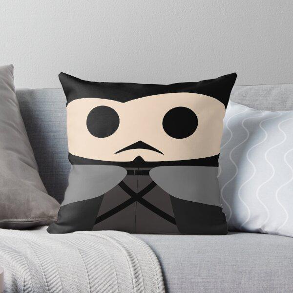 Jon Snow Throw Pillow