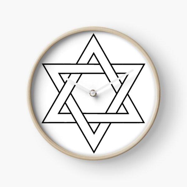 #Star of #David #Clipart #StarOfDavid Clock