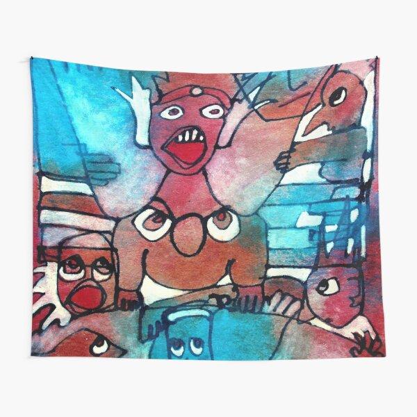 Gargoyle Takeover Tapestry