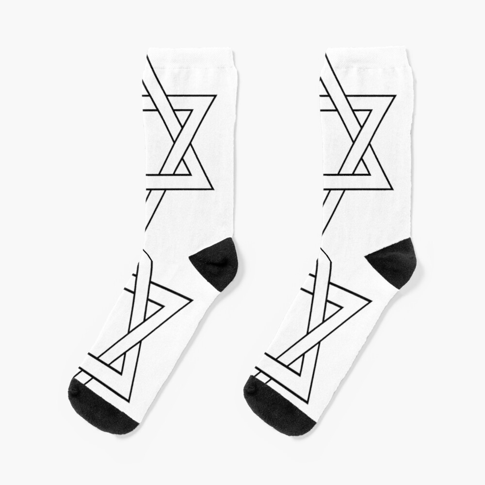 #Star of #David #Clipart #StarOfDavid Socks