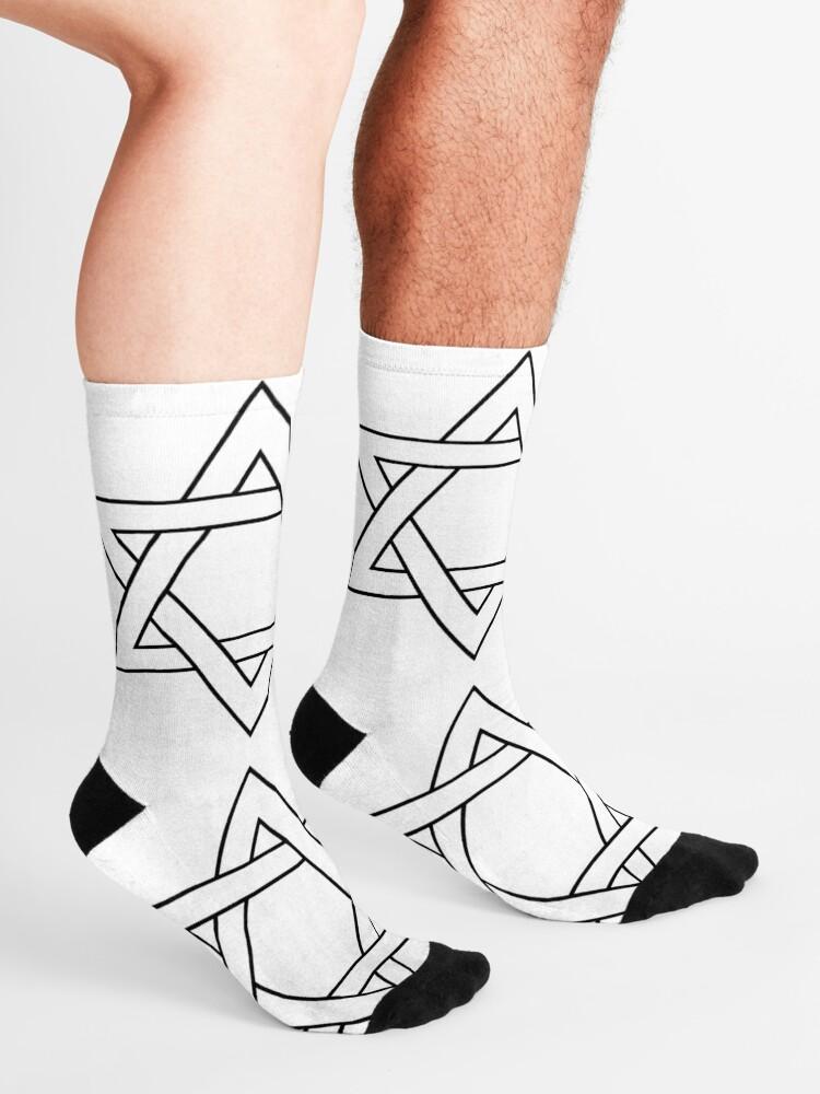 Alternate view of #Star of #David #Clipart #StarOfDavid Socks