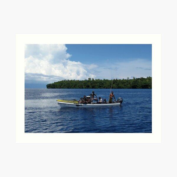 Island Men Art Print