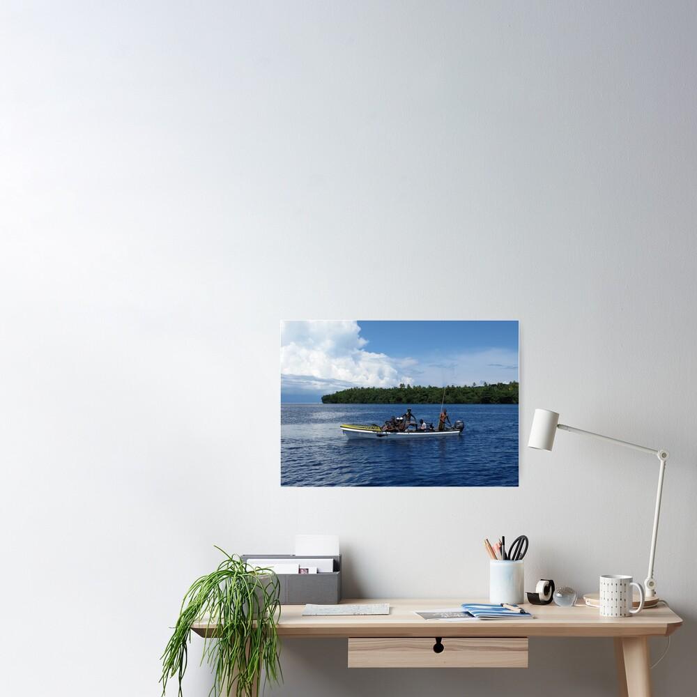 Island Men Poster
