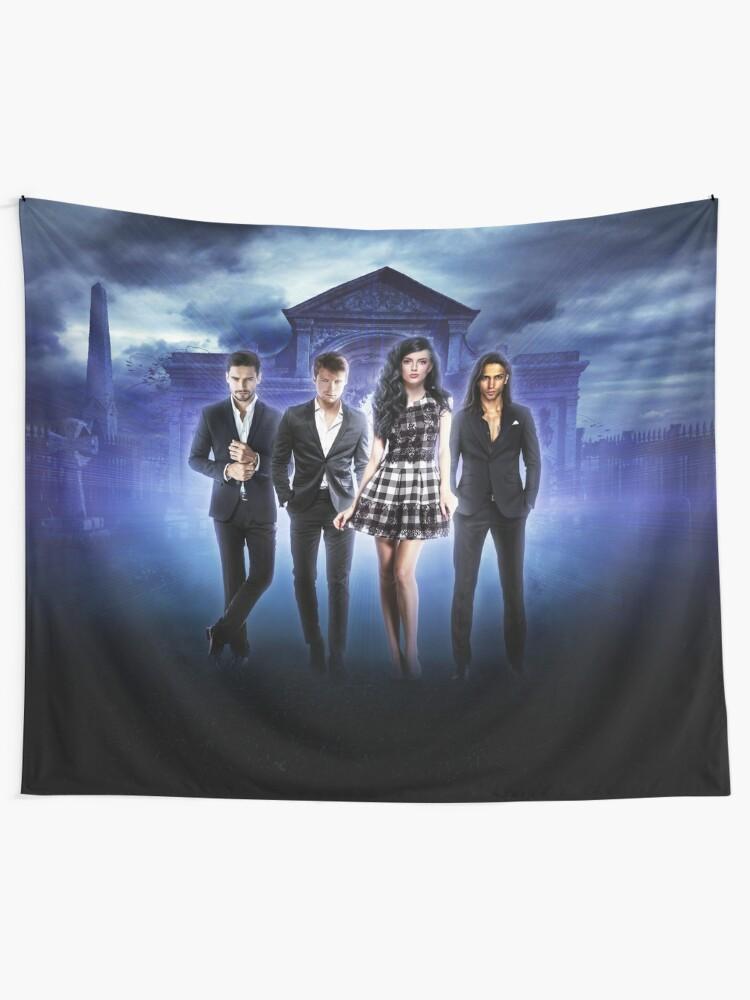 Alternate view of Born Vampire Complete series artwork Tapestry