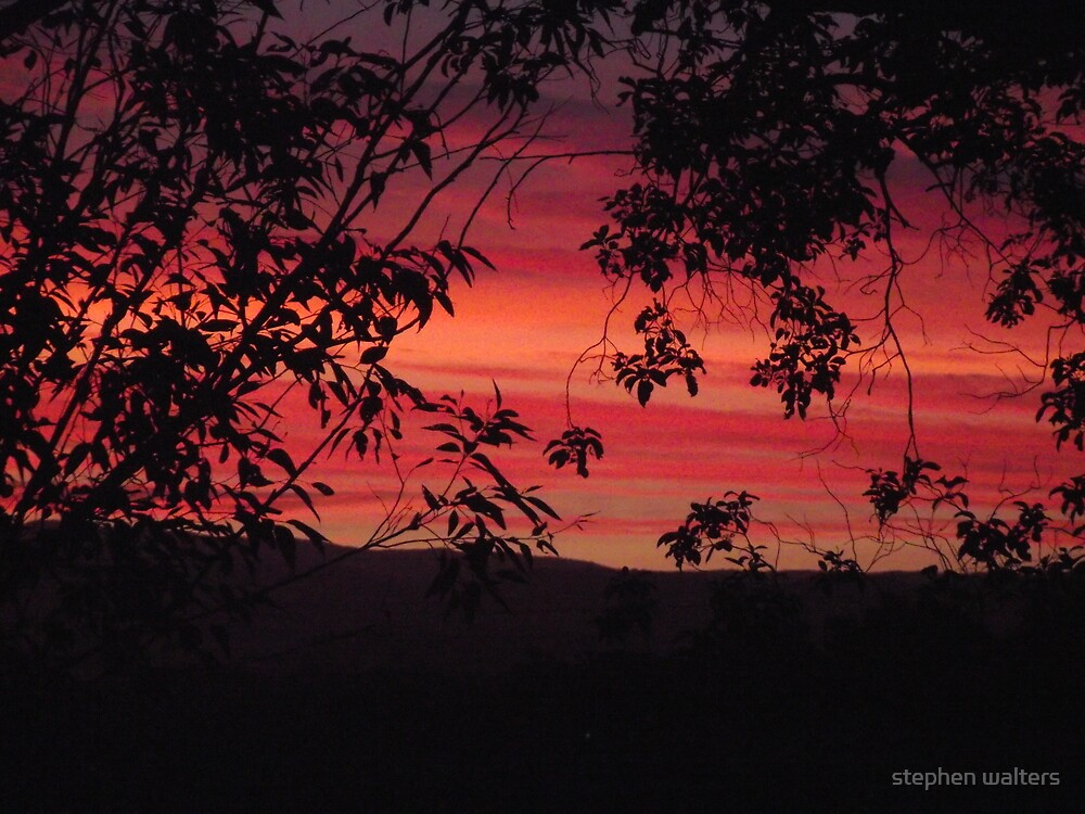 sunset beyond by stephen walters