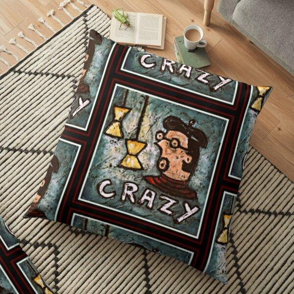 Crazy Man Floor Pillow