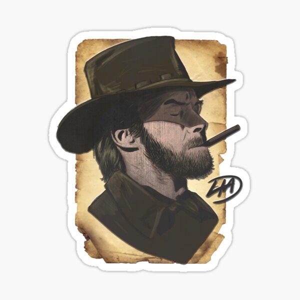 Cowboy Eastwood Sticker
