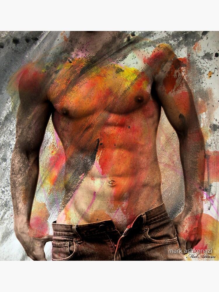 male nude art  by motiashkar