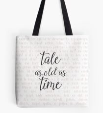 Tale as Old as Time Tote Bag