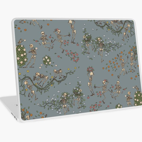 Skeletons with garlands Laptop Skin