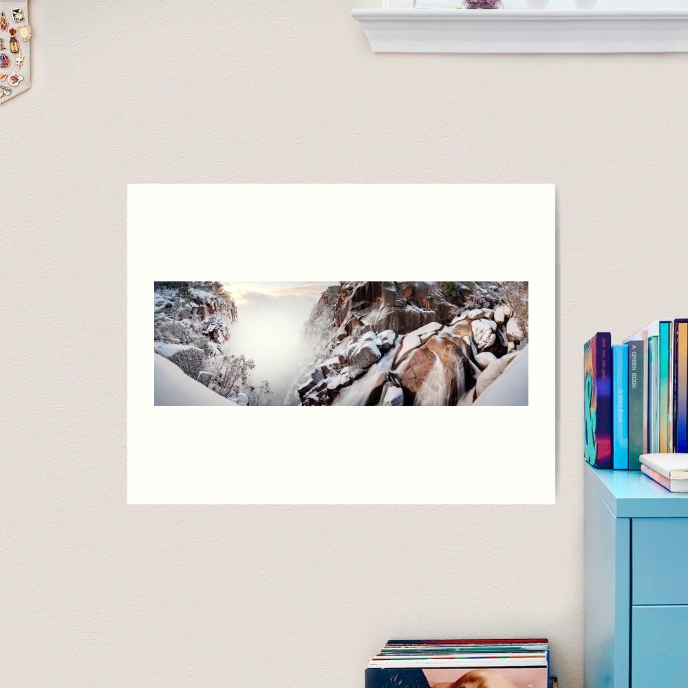 Crystal Falls, Mt Buffalo, Victoria, Australia Art Print