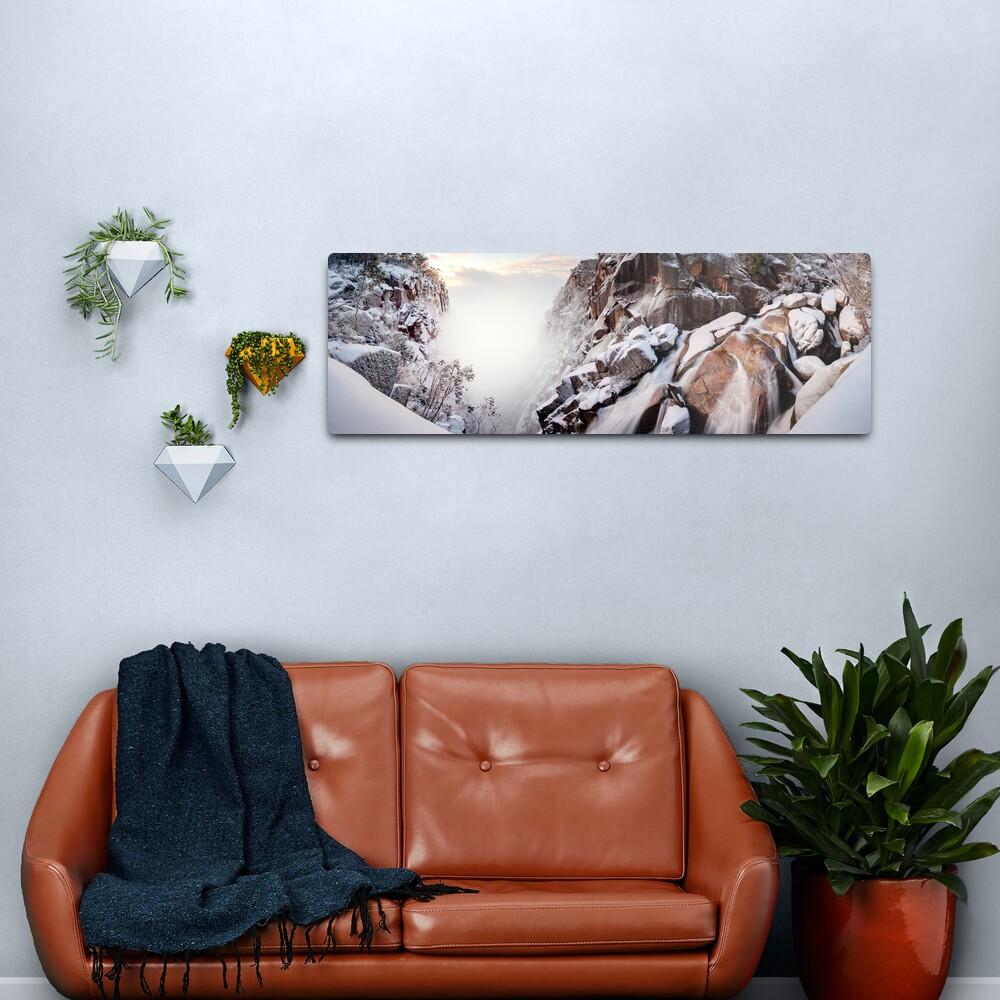 Crystal Falls, Mt Buffalo, Victoria, Australia Metal Print