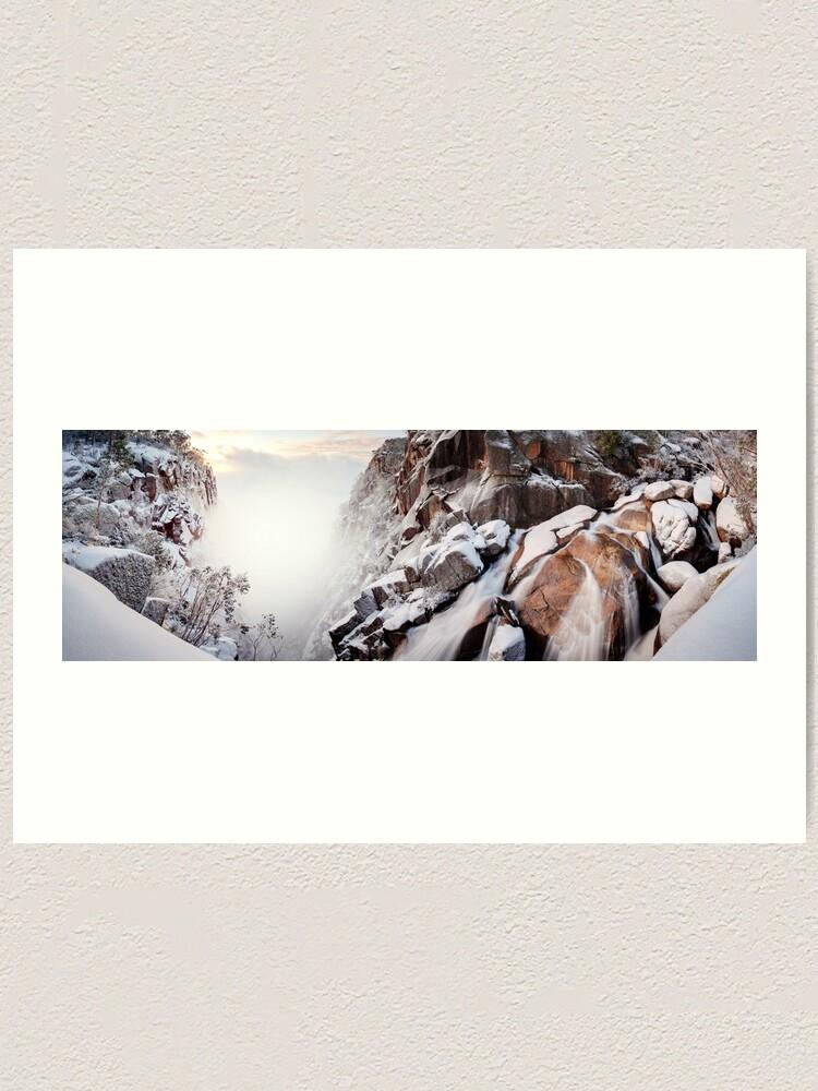 Alternate view of Crystal Falls, Mt Buffalo, Victoria, Australia Art Print