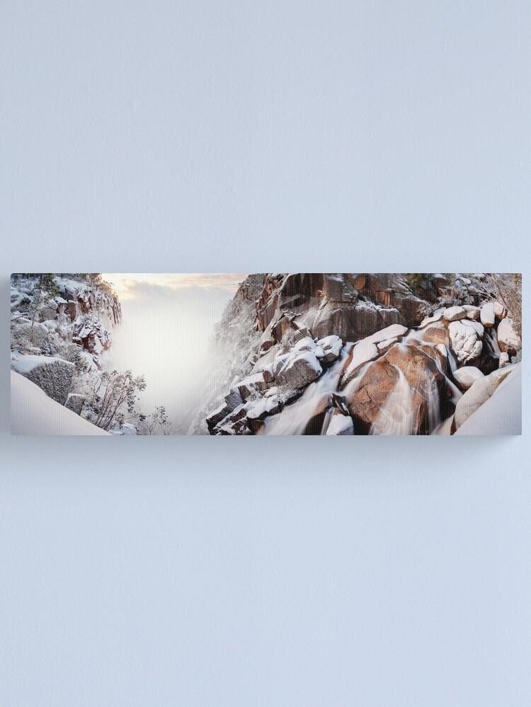 Alternate view of Crystal Falls, Mt Buffalo, Victoria, Australia Canvas Print