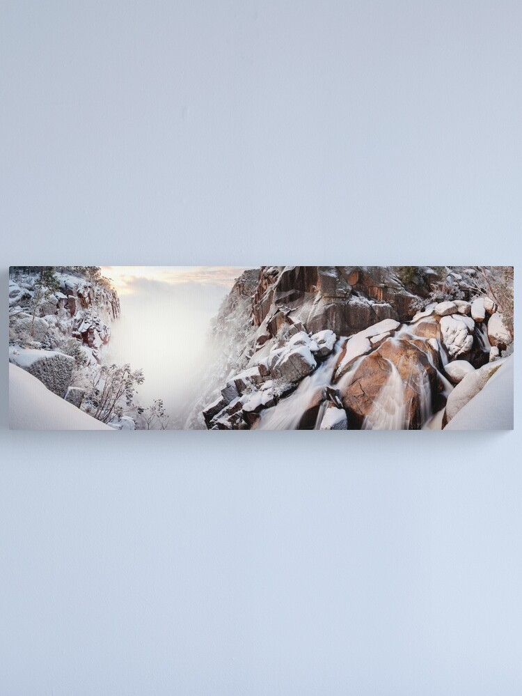 Alternate view of Crystal Falls, Mt Buffalo, Victoria, Australia Canvas Print