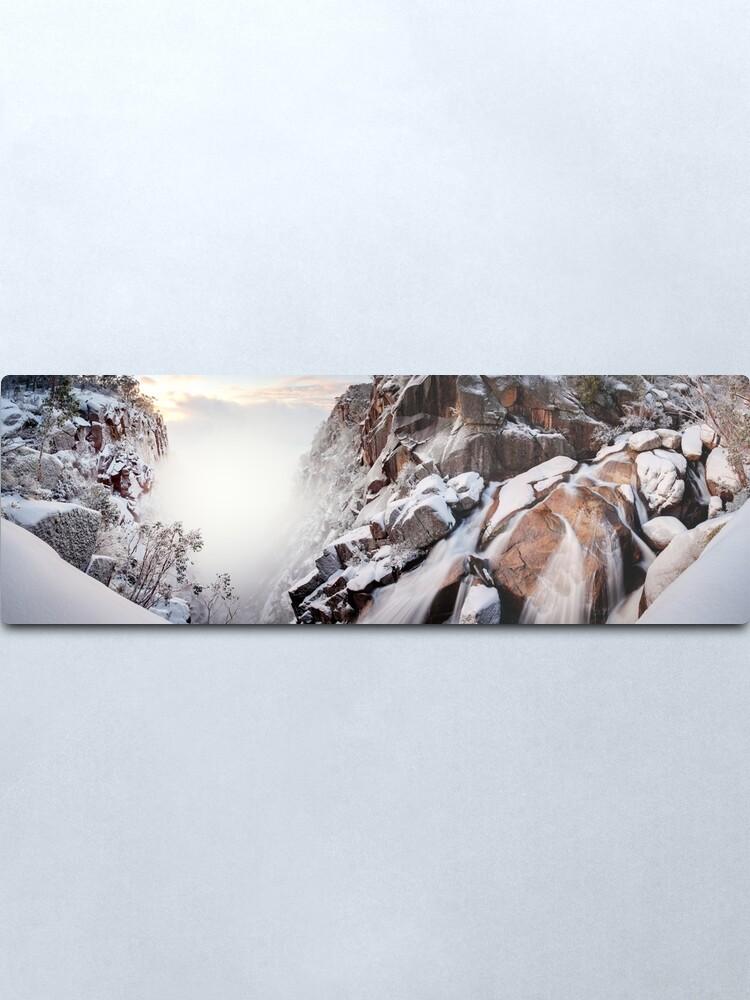 Alternate view of Crystal Falls, Mt Buffalo, Victoria, Australia Metal Print