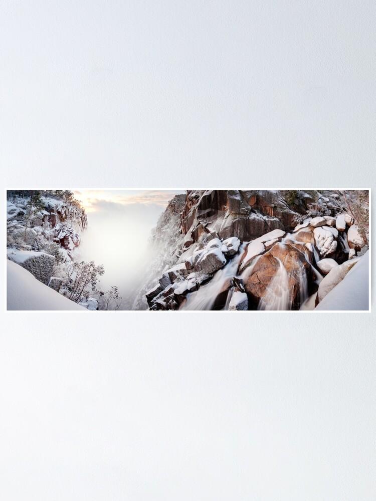 Alternate view of Crystal Falls, Mt Buffalo, Victoria, Australia Poster