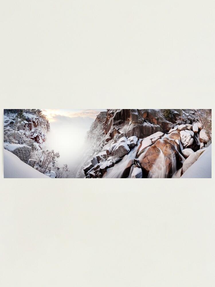 Alternate view of Crystal Falls, Mt Buffalo, Victoria, Australia Photographic Print