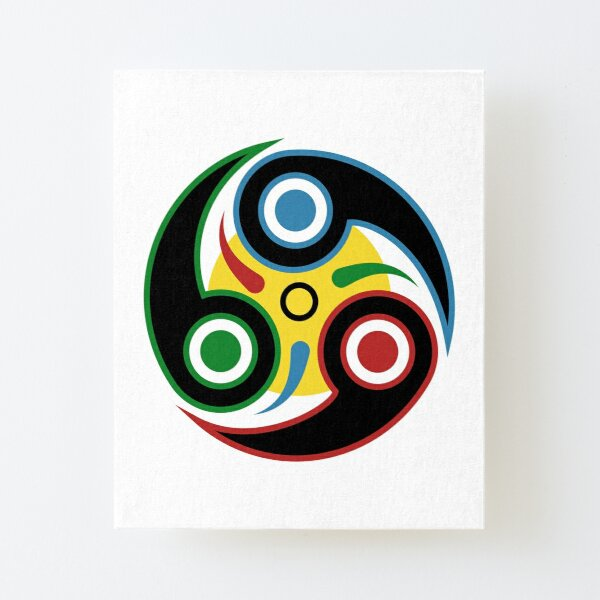 Insignia Canvas Mounted Print