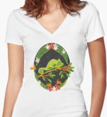 Chameleon Fitted V-Neck T-Shirt