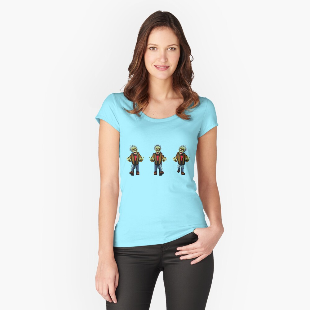 Zombies! Fitted Scoop T-Shirt