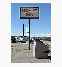 economy inn Photographic Print