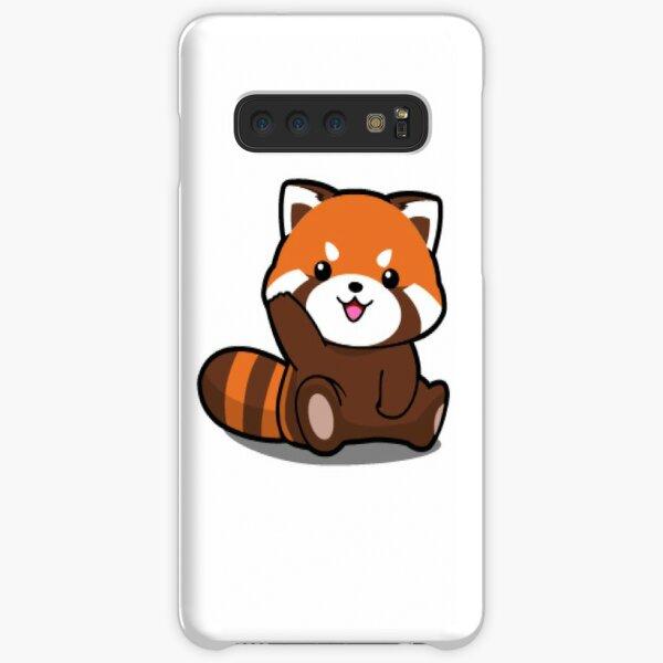 Petit Panda Rouge. Coque rigide Samsung Galaxy