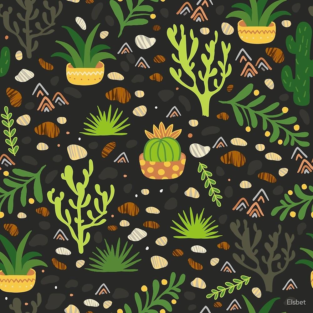 Prairie plants by Elsbet
