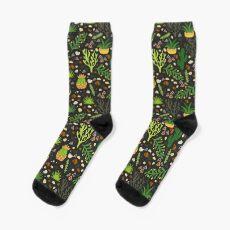 Prairie plants Sock